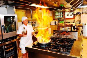 Rifugio Nambino - Cucina