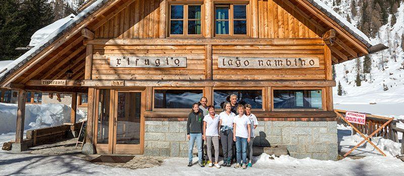 Rifugio Nambino Staff