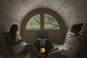 Rifugio Nambino   La sauna