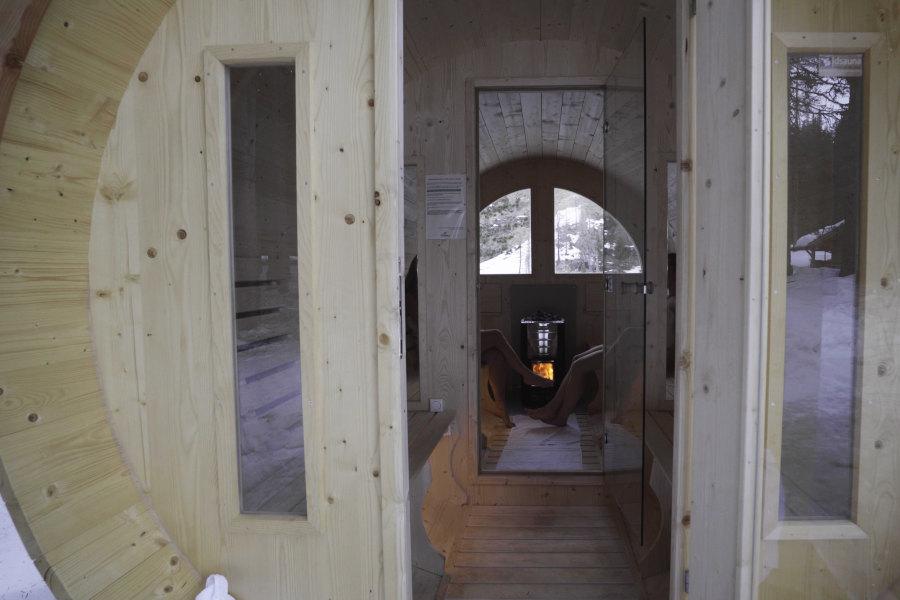 Rifugio Nambino | La sauna