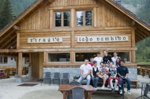 Rifugio Nambino - Lo staff